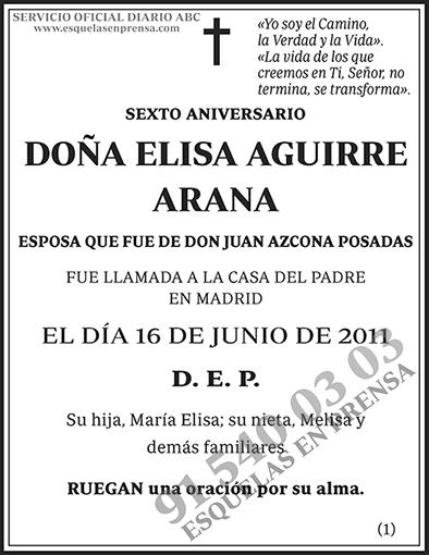 Elisa Aguirre Arana